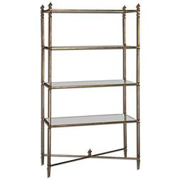 Uttermost 24277 Henzler Mirrored Glass Etagere