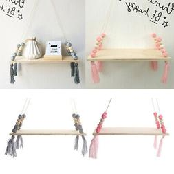 2xHome Decor Wooden Floating Shelf Wall-hanging Display Hold