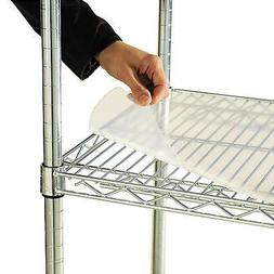 "Alera 48"" X 24"" Shelf Liners Wire Shelving Units Clear 4Pk D"