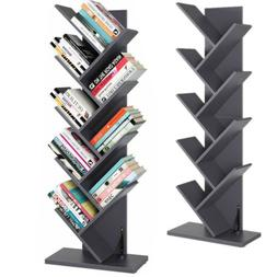 9 tiers tree bookshelf book rack cd
