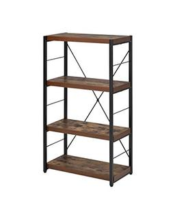 ACME Furniture Acme 92399 Bob Bookcase, Weathered Oak, One S