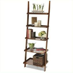 American Heritage 72 Ladder Bookcase, Cherry