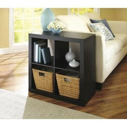 Better Homes and Gardens Square 4 Cube Storage Organizer, Bo