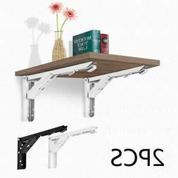 book shelf mount bracket home triangular catch