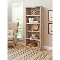 Better Homes and Gardens Crossmill Collection 5-Shelf Bookca