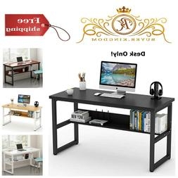 Desk Study Table Workstation for Home Office 55'' Computer B