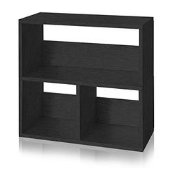 Way Basics Eco Friendly Collins Cubby Bookshelf and Organize