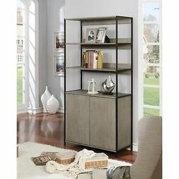 Furniture of America Fillmore 2-door Shelf with Storage
