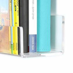 Floating Bookshelf Acrylic Invisible Kids Bedroom Clear Wall