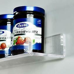 Floating Shelves 16 INCH Acrylic - Wall Shelves/Book 5MM Thi
