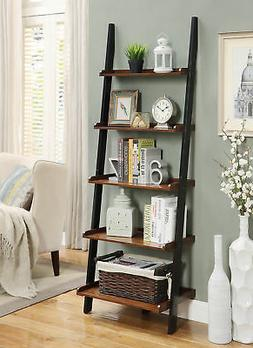 Convenience Concepts French Country Bookshelf Ladder, Dark W