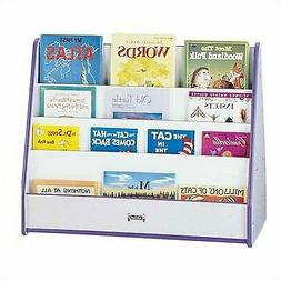 Jonti-Craft Mobile Pick-a-book Stand - 2 Sided Blue