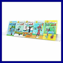 """Kids Acrylic Floating Bookshelf 36"""" Clear Invisible Wal 5Mm"""