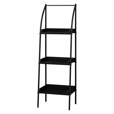 16 in backless metal bookcase