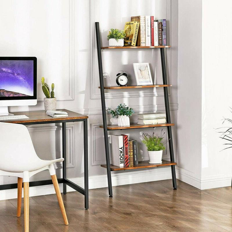 4-Tier Bookshelf Rack Shelf Shelving