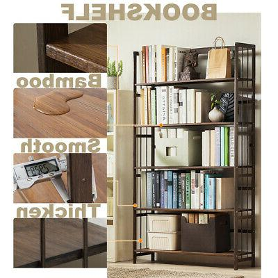 5 Storage Rack Bookcase Display