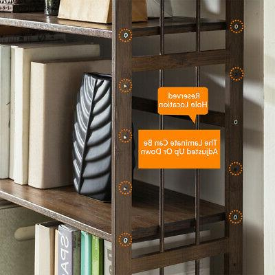5 Open Storage Bookcase
