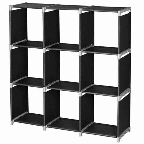 multi open shelf bookcase bookshelf 3 tier