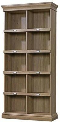 SAUDER Barrister Bookcase Classic Laminated Particle Board W