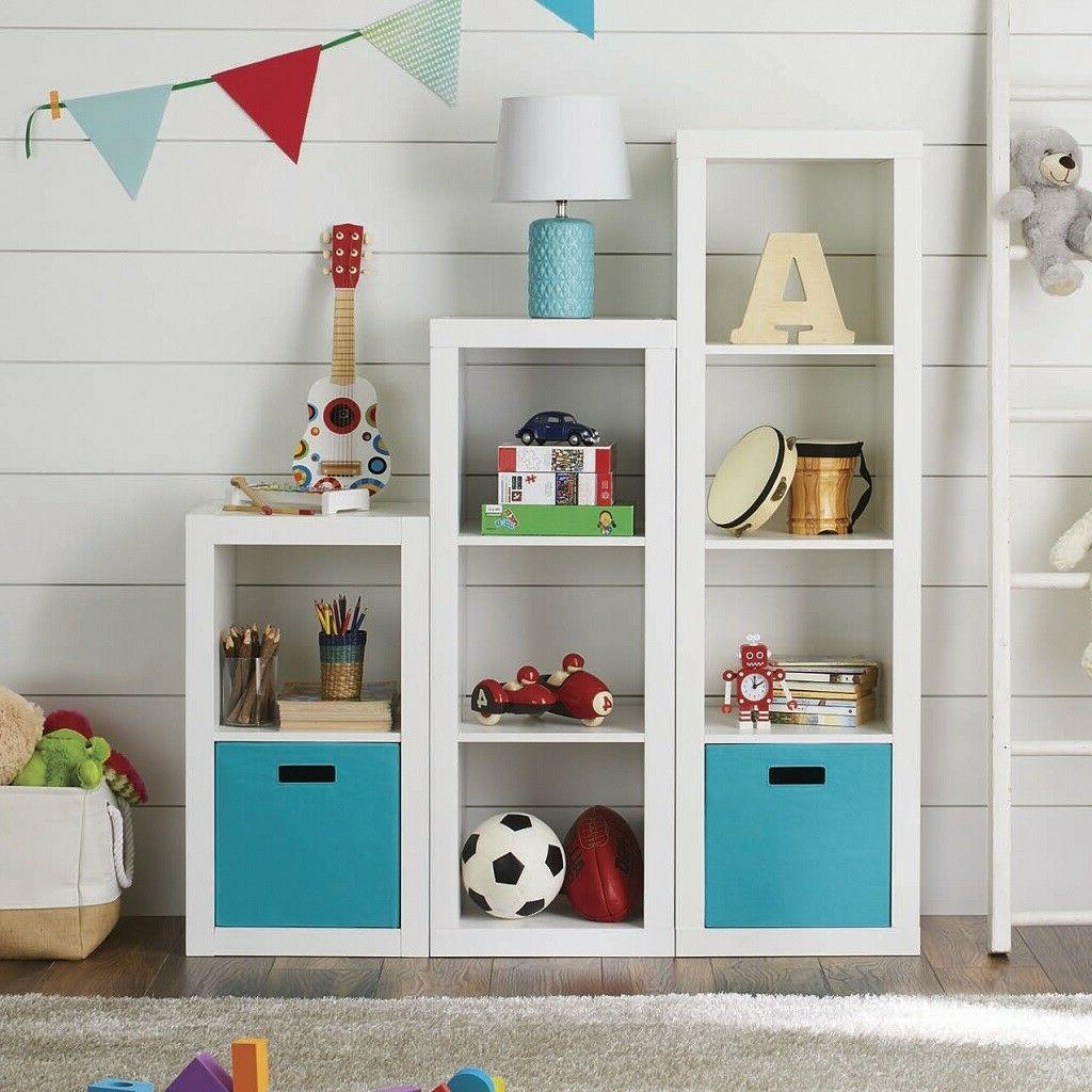 Better Homes and Gardens 2 Cube Storage Organizer Bookcase S