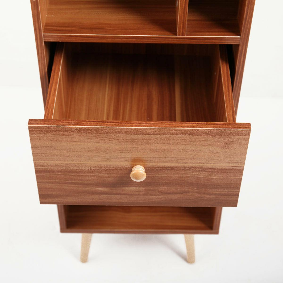 Bookcases And Shelves Foots Brown
