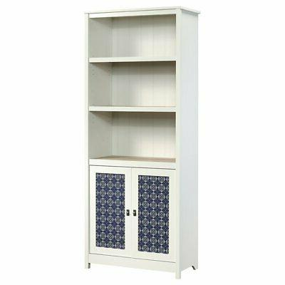 cottage road 3 shelf bookcase in soft
