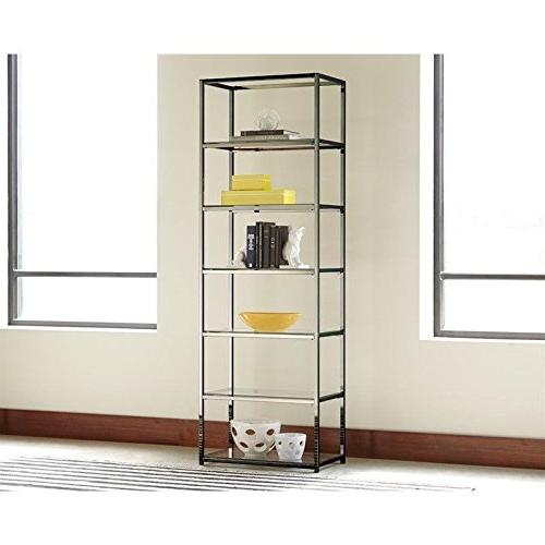 Metal with Shelves