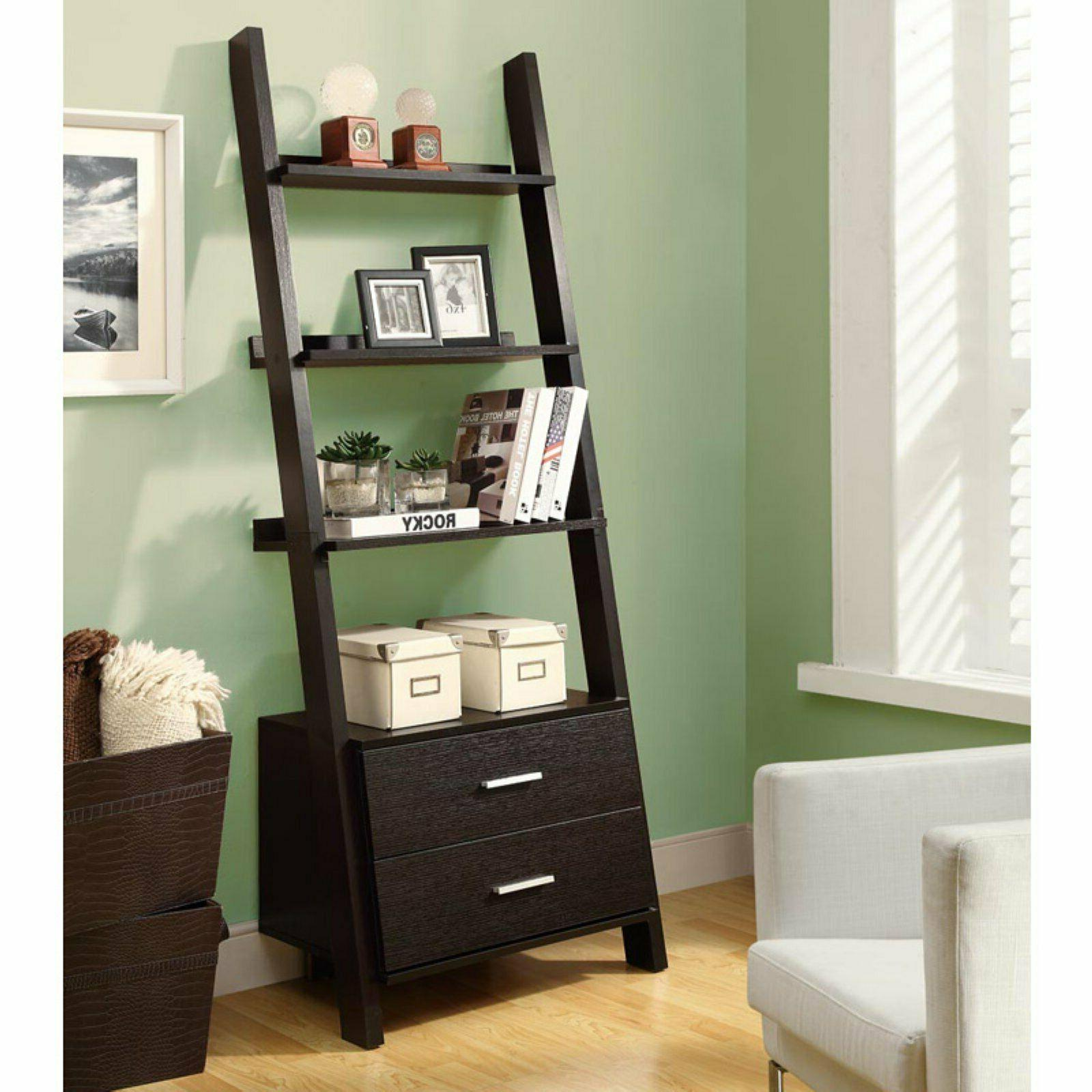 monarch 69 in ladder bookcase with 2