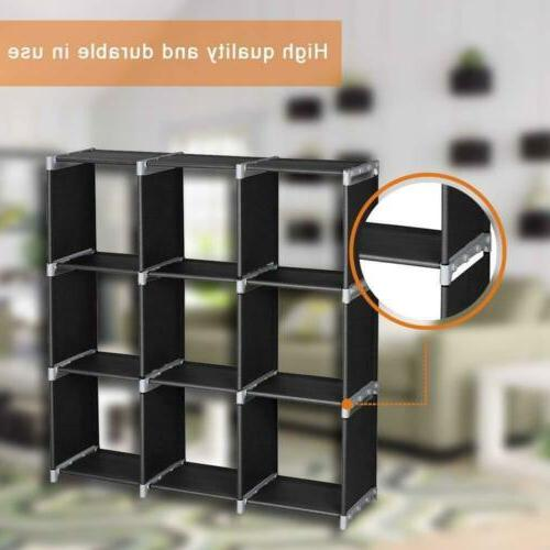 Multi Bookshelf Cube Storage Closet