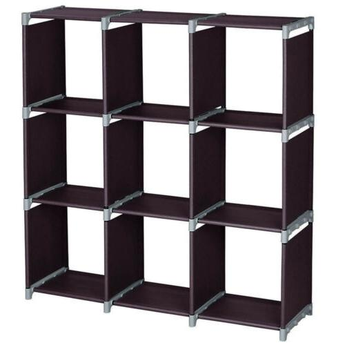 Multi Open Bookshelf Cube Home Shelves Closet