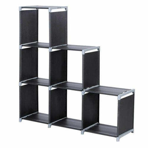 Multi Open Shelf Bookshelf Cube Home Shelves Closet