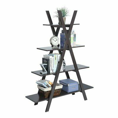 Convenience Oxford Frame Bookshelf in Espresso