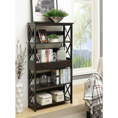 oxford bookcase with drawer