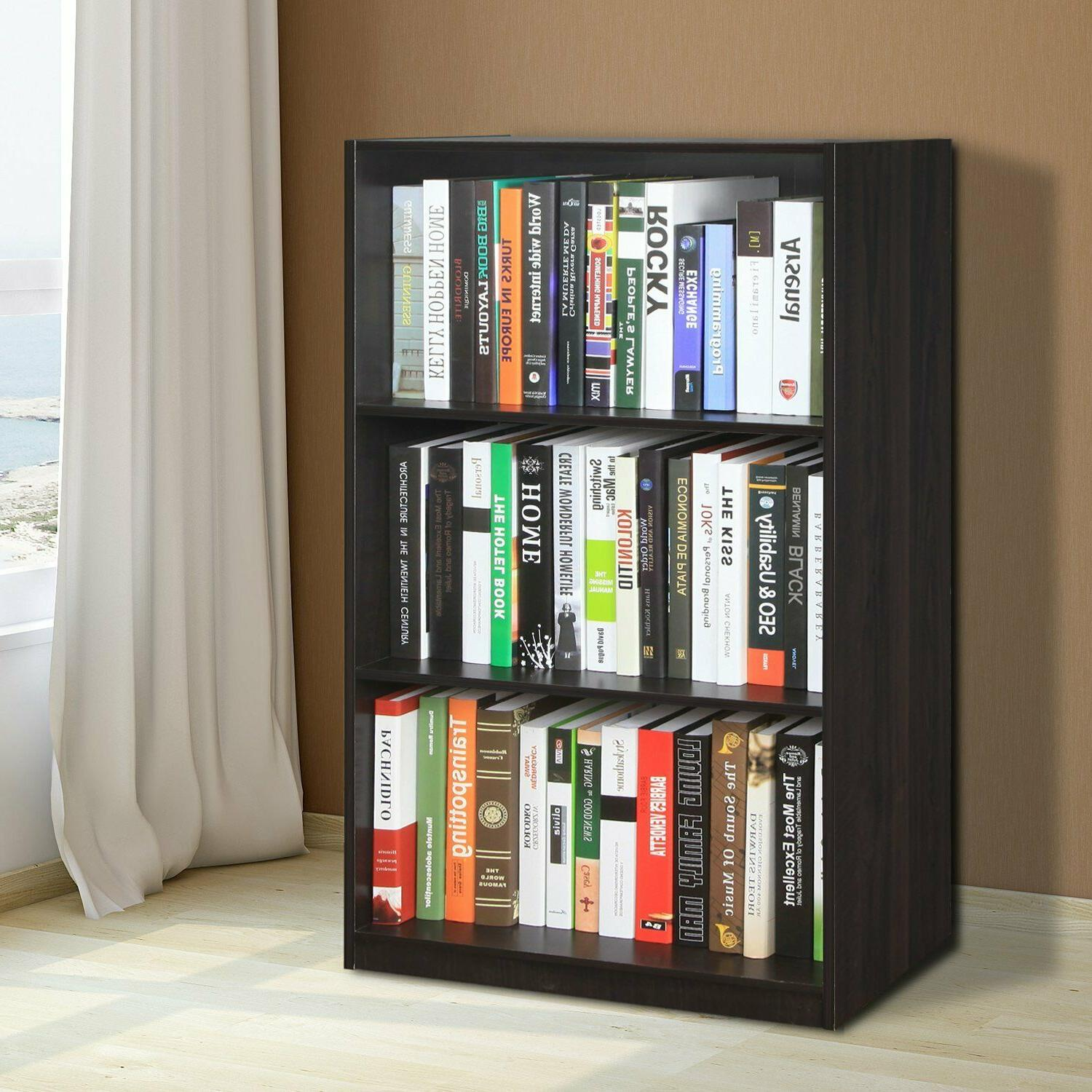 Small Bookcase Bookshelf For Tall Adjustable Book