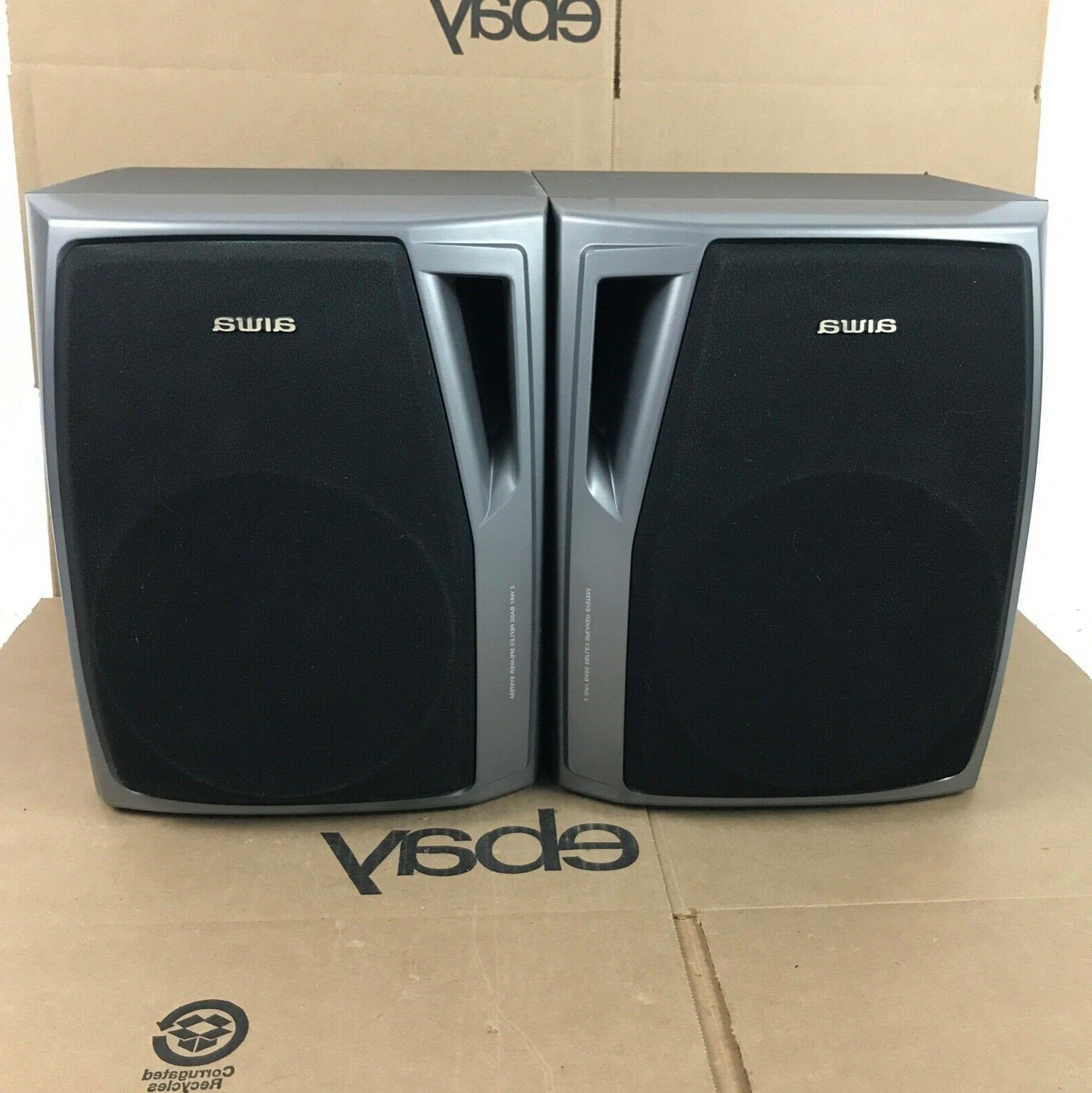 stereo bookshelf component speakers set of two