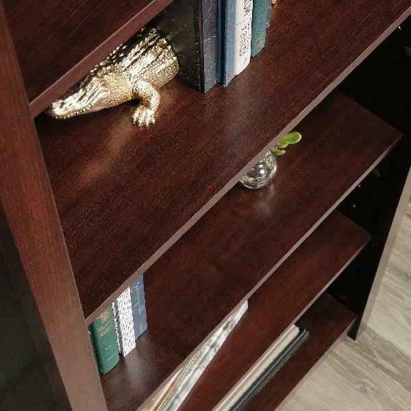 Tall Bookcase Display Library Storage Furniture