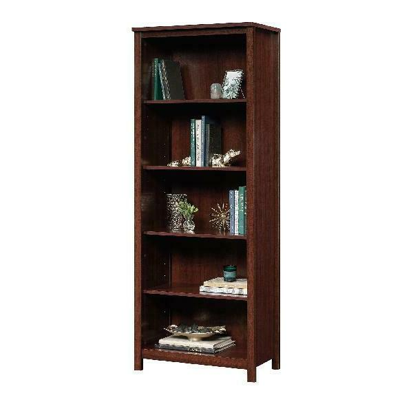 Tall Display Library Storage Organizer Furniture Wood