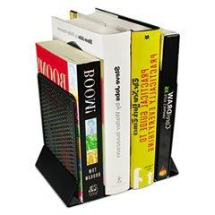 Urban Collection Punched Metal Bookends, 6 1/2 x 6 1/2 x 5 1
