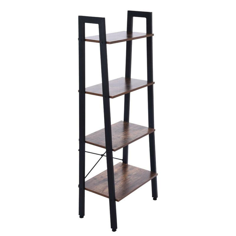 4-Tier Ladder Rack Shelving