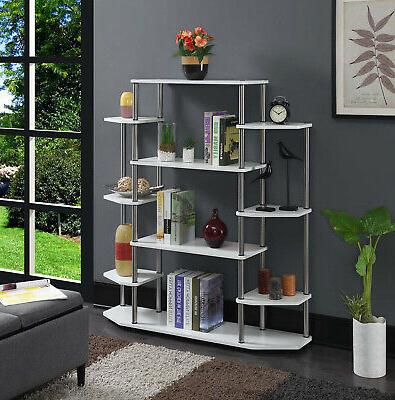 Wall Unit with Particle Board Melamine Stainless Poles