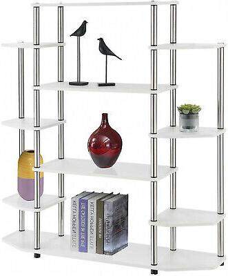 Wall Bookshelf Stainless Steel