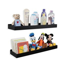 Wallniture Nursery Room Decor - Floating Book Shelves for Ki