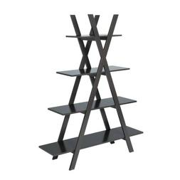 oxford a frame bookshelf in espresso