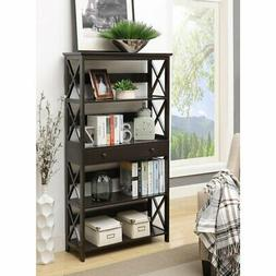 Convenience Concepts Oxford Bookcase with Drawer