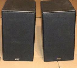 PAIR OF DCM CX-07 TWO-WAY BOOKSHELF SPEAKERS MADE IN USA
