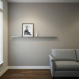 """Floating Ledge Stainless Steel for Photo and Picture 3,5"""" Ex"""