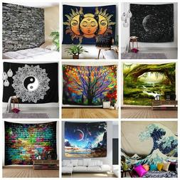 US Stock Hippie Psychedlic Tapestry Room Wall Hanging Mandal